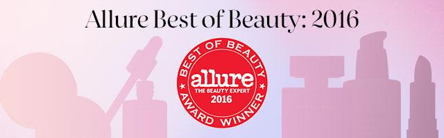Allure Best of Beauty: 2016