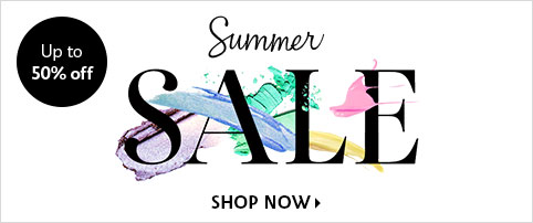 Up to 50% off Summer SALE SHOP NOW >