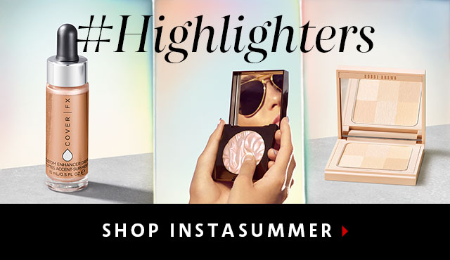 #Highlighters Create a lit-from-within effect. SHOP INSTASUMMER >