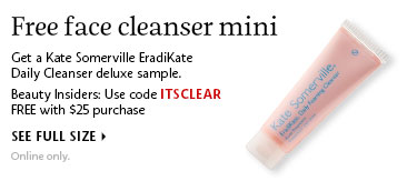 Free face cleanser mini | Use code ITSCLEAR