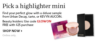 Pick a highlighter mini | Use code GLOWON